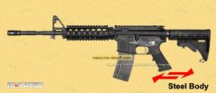 Inokatsu M4 MTW SOPMOD Gas Blowback Rifle (2011 SUPER VERSION) w/ FREE MAGAZINE